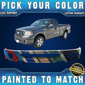 New Painted To Match Steel Front Bumper Face Bar For 2006 2008 Ford F150 Truck
