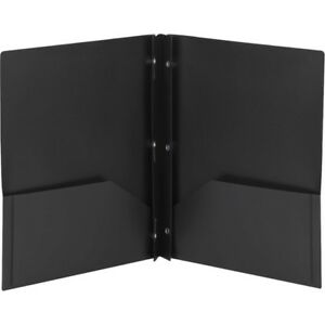 Smead Poly Two pocket Folders With Fasteners 87725