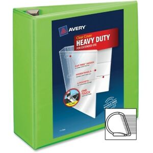 Avery Heavy duty View Binders With Locking One Touch Ezd Rings 4 Binder Capac