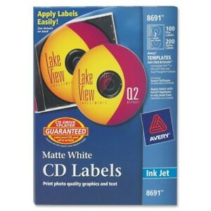 Avery Cd Labels 8691