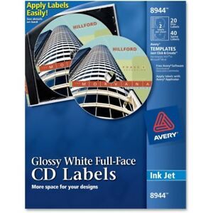 Avery Cd Labels 8944