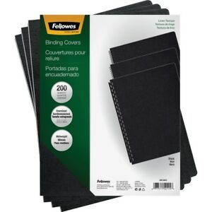 Fellowes Linen Unpunched Presentation Covers 52115