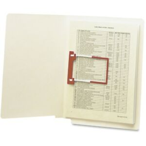 Smead End Tab U clip Fastener Folder With Shelf master reg Reinforced Tab 34112
