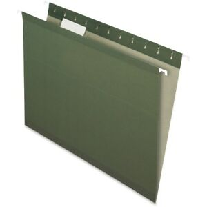 Pendaflex Recycled Hanging File Folders With Infopocket Rcy4152 1 5 Sgr