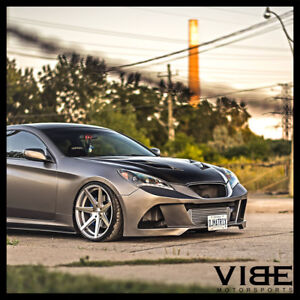 19 Rohana Rc7 Silver Concave Wheels Rims Fits Hyundai Genesis Coupe