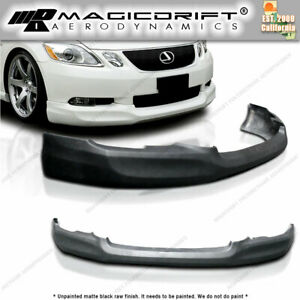 For 06 07 Lexus Gs300 Gs350 Gs430 Pu Front Bumper Lip Spoiler Body Kit Ins Style