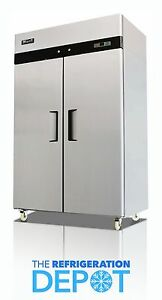 Migali C 2f Two door Commercial Reach in Freezer 49 Cu Ft Free Shipping