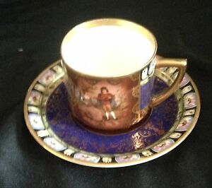 Royal Vienna Style Cup Saucer