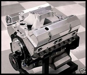 Sbc Chevy 427 Stage 5 2 Dart Block Afr Heads Crate Motor 628 Hp Base Engine