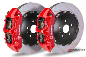 Brembo Front Gt Bbk Brake 6piston Red 405x34 Slot Rotor For Gs f Gsf Rc f Rcf