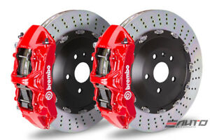 Brembo Front Gt Bbk Brake 6piston Red 405x34 Drill Disc For Gs F Gsf Rc F Rcf