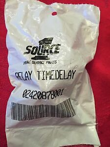 Source 1 Time Delay Relay 02420878001