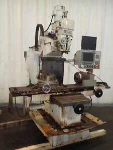 Fryer Mb 15 Cnc Vertical Milling Machine Full Fourth Axis Troye 9 Rotary Table