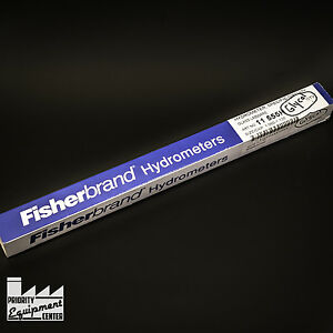lot Of 3 New Fisherbrand Hydrometer 11 555h Specific Gravity Size 1 060 1 130