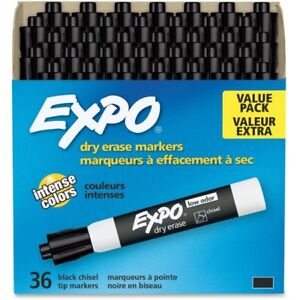 Expo Low odor Dry Erase Chisel Tip Markers 1920940