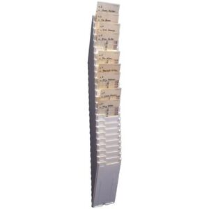 Acroprint Expanding Time Card Rack 81 0118 000
