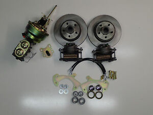 1957 1964 Ford Fullsize Galaxie Power Front Disc Brake Conversion