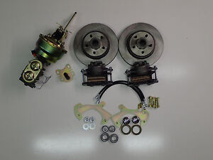 1965 1968 Ford Galaxie Power Front Disc Brake Conversion Kit