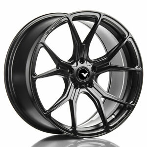 19 Vorsteiner V ff 103 Forged Concave Black Wheels Rims Fits Benz W204 C63 Amg