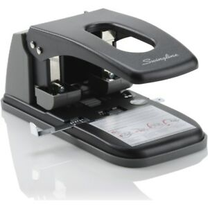 Swingline reg High Capacity 2 hole Punch Fixed Centers 100 Sheets A7074190