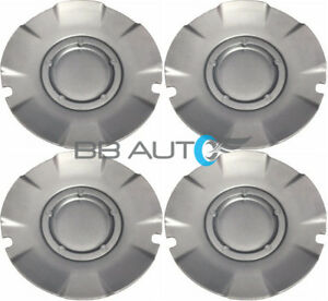 2004 2007 Chevrolet Silverado Ss Silver Wheel Hub Center Caps Set Of 4 New