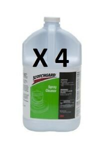 Case Of 4 Gal Scotchgard Spray Cleaner Concentrate Safe On Most Carpet