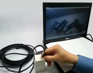 Usb Endoscope 7mm Inspection Hd Camera Waterproof Borescope Snake Scope 7m Cable