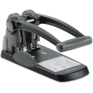 Swingline reg Extra High Capacity 2 hole Punch Fixed Centers 300 Sheets