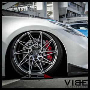 20 Ace Driven Machined Concave Wheels Rims Fits Hyundai Genesis Coupe