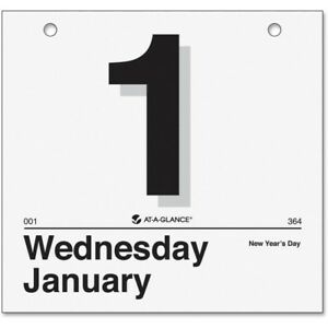 At a glance today Is Daily Wall Calendar Refill K4 50