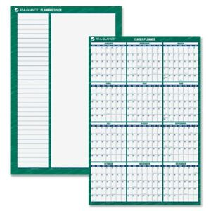 At a glance Jumbo Erasable Yearly Wall Planner Pm310 28