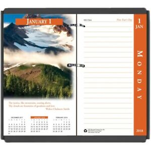 House Of Doolittle Earthscapes 17 base Desk Calendar Refill 417