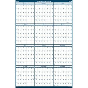 House Of Doolittle Recycled Laminated Reversible Planner 396