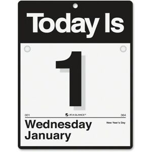 At a glance Today Is Wall Calendar K4 00