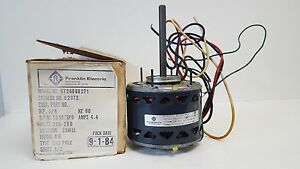 Nos Packard Franklin Electric Shade Pole Motor 1050rpm 1 4hp 82972 8726060271