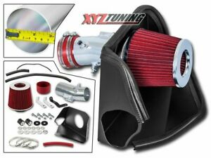 3 Red Heat Shield Cold Air Intake Kit Filter For 07 12 Altima 3 5l V6