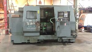 Okuma Lc30 Cnc Lathe Good Condition Under Power See Video
