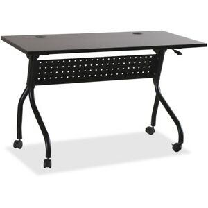 Lorell Espresso black Training Table 60732