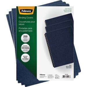 Fellowes Linen Unpunched Presentation Covers 52113