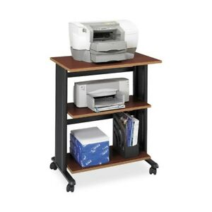 Safco Muv Three Level Adjustable Printer Stand 1881cy