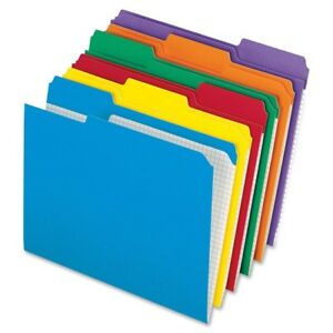 Pendaflex Color Reinforced Top File Folders R152 1 3 Asst