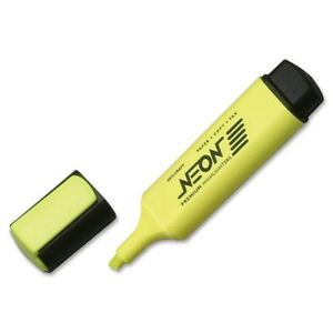 Skilcraft Neon Yellow Highlighter 7520 01 201 7791