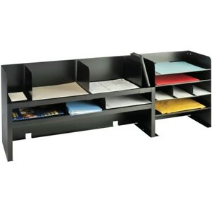 Mmf Raised Shelf Design Desk Organizer 2061dobk