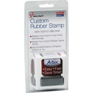 Skilcraft Custom Stamp Order Kit 7520013862444