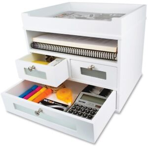 Victor W5500 Pure White Tidy Tower