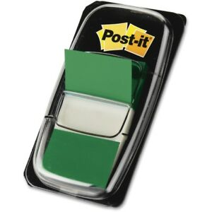 Post it Flags Value Pack Green 1 In Wide 680gn12