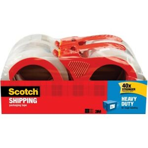 Scotch Refillable Heavy Duty Shipping Packaging Tape 3850 4rd