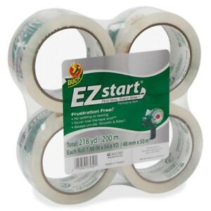 Duck Ez Start Crystal Clear Packaging Tape 280068