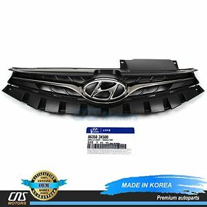 Genuine Radiator Grille Front For 2013 Hyundai Elantra Coupe Oem 863503x500