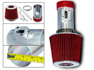 3 Racing Air Intake Kit Dry Red Filter For 04 11 Ford Corwn Victoria 4 6l Fd